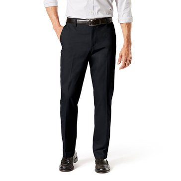 Dockers Men's Signature Straight Fit Flat Front Pants