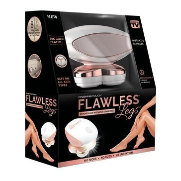 As Seen On TV Finishing Touch Flawless Legs Women's Hair Remover