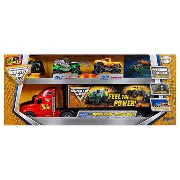 Monster Jam R/C Hauler Set