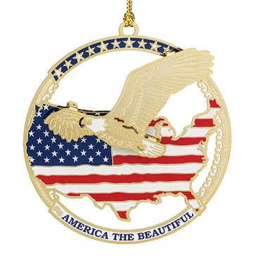 Chemart America The Beautiful Ornament