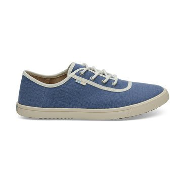 Toms Carmel Infinity Blue Heritage Canvas Blue