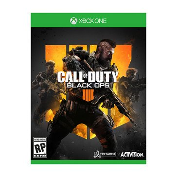 Xbox One Call of Duty:Black Ops 4