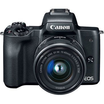 Canon EOS M50 Mirrorless Digital Camera with 15-45mm Lens