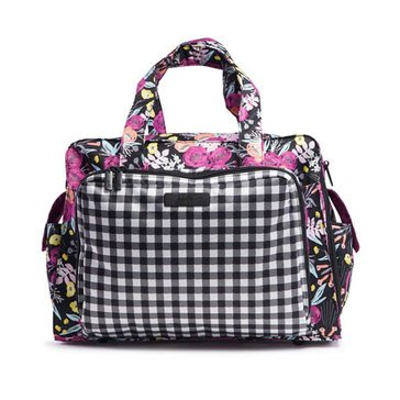 Ju-Ju-Be Be Prepared Diaper Bag Tote, Gingham Bloom