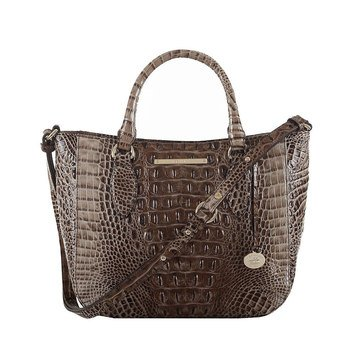 Brahmin Small Lena Satchel  Bark Melbourne