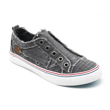 Blowfish Play Sneaker No Laces Grey Hipster
