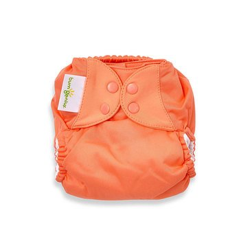 BumGenius Freetime One-Size Cloth Diaper, Kiss