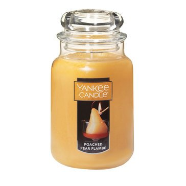 Yankee Candle Poached Pear Flambé Large Classic Jar