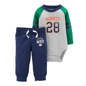 Carter's Baby Boys' Bodysuit and Pant Set