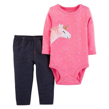 Carter's Baby Girls' Bodysuit and Pant Set