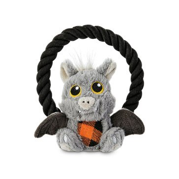 Petco Halloween Small Bat with Rope Handle Toy