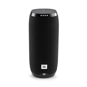 JBL LINK 20 Smart Portable Bluetooth Speaker with Google Assistant, Black