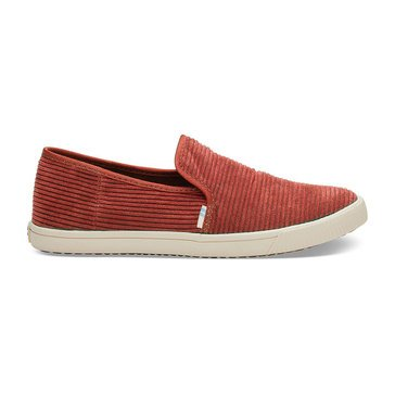 Toms Carmel Spice Corduroy Red