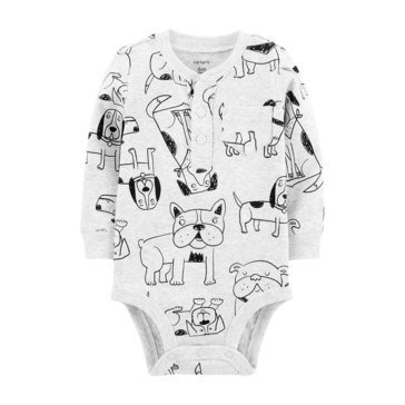 Carter's Baby Boys' Dog Sketch Bodysuit