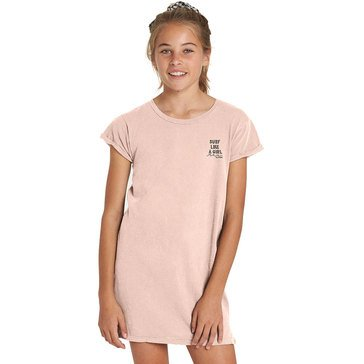 Billabong Big Girls' Last Quarter Tee Dress, Peony