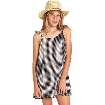 Billabong Big Girls' Envy The Sweet Woven Mini Dress, Black/White