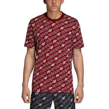 Adidas Men's Originals Trefoil Monogram Tee