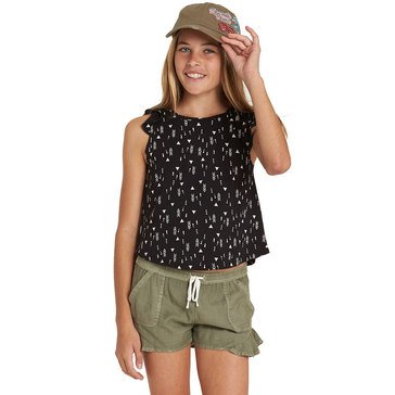 Billabong Big Girls' Sweet Day Knit Tank, Black