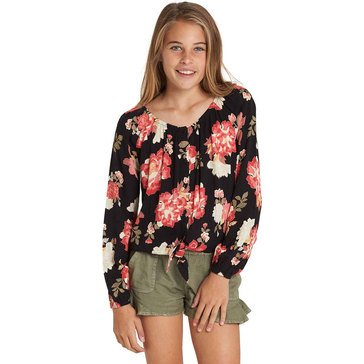 Billabong Big Girls' For The Ages Top, Black