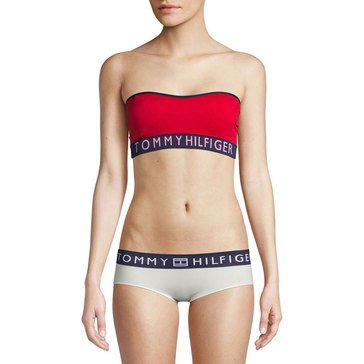 Tommy Hilfiger Women's Seamless Bandeau Bra, Tango Red