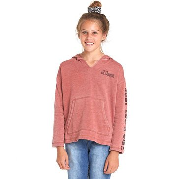 Billabong Big Girls' Sunday Love Pullover Hoodie, Sienna