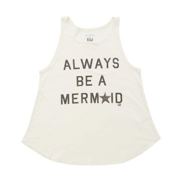 Billabong Be A Mermaid Swing Tank, Cream