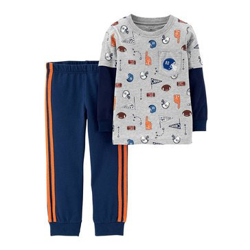 Carter's Baby Boys' 2-Piece Jogger Set, Sport