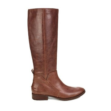 Ugg Leigh Riding Boot Dark Brown