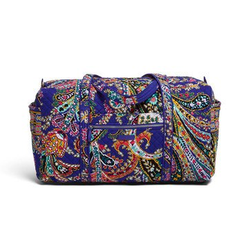 Vera Bradley Iconic Large Travel Duffel Romantic Paisley