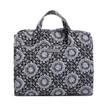 Vera Bradley Iconic Hanging Travel Organizer Charcoal Medallion