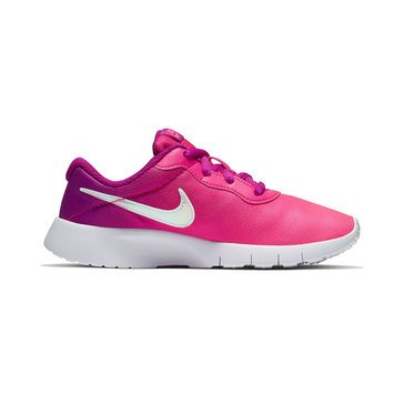 Nike Girls Tanjun Print Running Shoe (Little Kid)