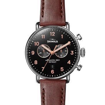 Shinola Men's The Canfield Sport Chronograph Watch, 43mm