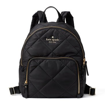 Kate Spade Watson Lane Quilted Hartley Backpack Black