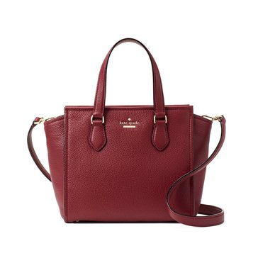 Kate Spade Jackson Street Small Hayden Satchel Fig Jam
