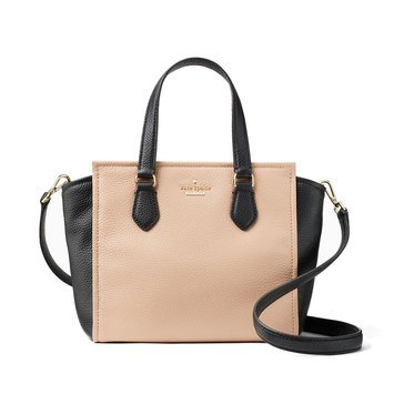 Kate Spade Jackson Street Small Hayden Satchel Ginger Tea