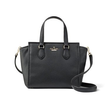 Kate Spade Jackson Street Small Hayden Satchel Black