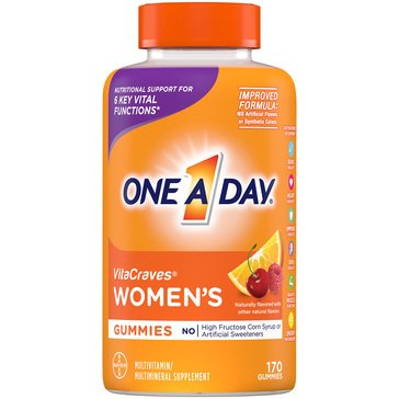 One A Day Women's Vitacraves Gummies 150ct