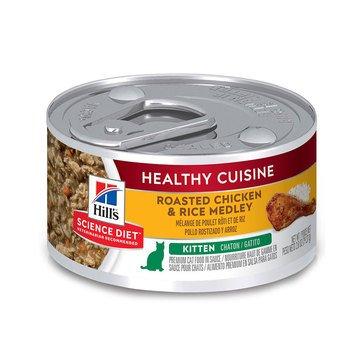 Hill's Science Diet Chicken and Rice Medley Kitten Food