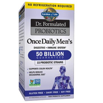 Dr. Formulated Once Daily Men's Probiotic 30ct