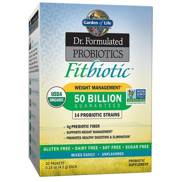 Dr. Formulated Fitbiotics 20ct