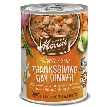 Merrick Classic Thanksgiving Day Dinner Adult Wet Dog Food
