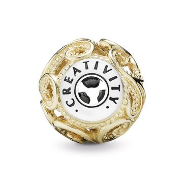 Pandora 14K Essence Creativity Charm