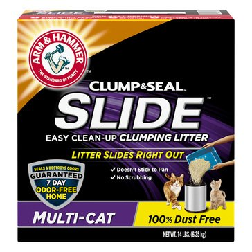 Arm and Hammer Slide Multi-Cat Litter