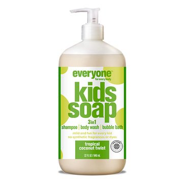 Everyone 3 in 1 Tropical Coconut Twist Kids Hand Soap