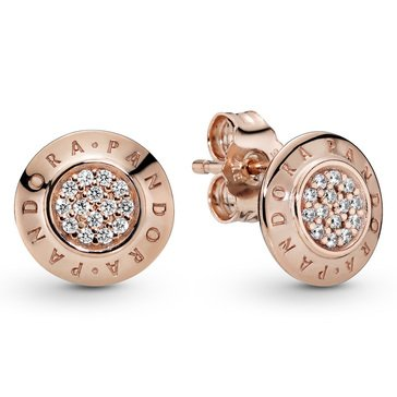 Pandora Rose Pandora Signature CZ Earrings