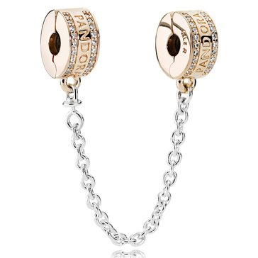 Pandora Rose Pandora Insignia Cz Safety Chain, 5Cm/2In
