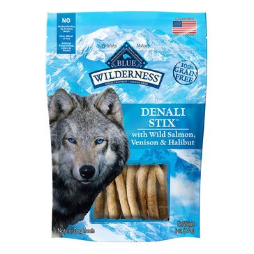 Blue Buffalo Wilderness Denali Stix Dog Treats