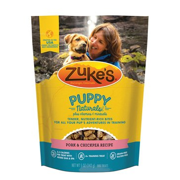 Zukes Puppy Pork & Chickpea Dog Treats