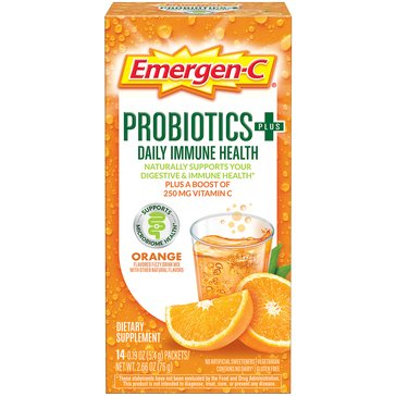 Emergen-C Probiotics+ Daily Immune Health Powder Packets