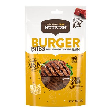 Rachael Ray Nutrish Burger Bites Dog Treats
